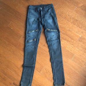 Stretchy carmar jeans, midrise